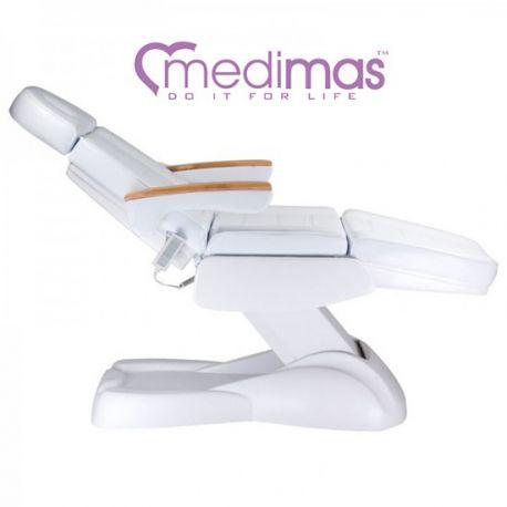 Professionell 2 zoner massagebänk i trä PROSPORT 2 orange